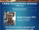 Special Seminar – Ralph Fregosi, PhD November 21, 2019